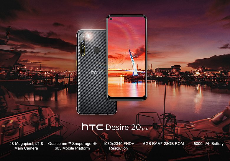 The newest HTC smartphone unexpectedly comes out in Europe