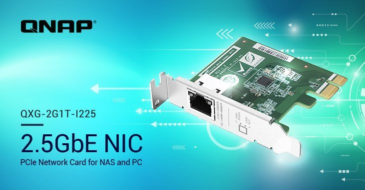 Qnap launches single 2.5GbE PCIe expansion card