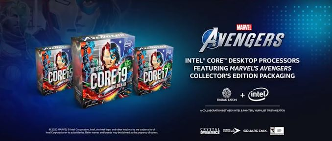 Intel Unveils Marvel's Avengers Collector's Edition Packaging Processors