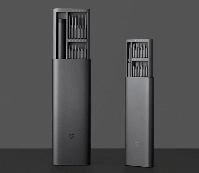 Xiaomi introduced a new proprietary screwdriver with USB-C charging