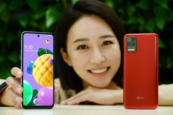 Sleek and Shockproof. LG Q52 Smartphone Presented