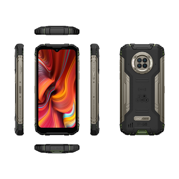 IP69K, MIL-STD 810G and night vision camera.  Doogee S96 Pro presented