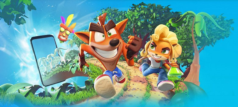 Legendary PlayStation Exclusive - Crash Bandicoot: On the Run!  - available for iPhone and iPad