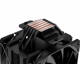 Cooling system ID-Cooling SE-225-XT Black is suitable for processors with TDP up to 220 W