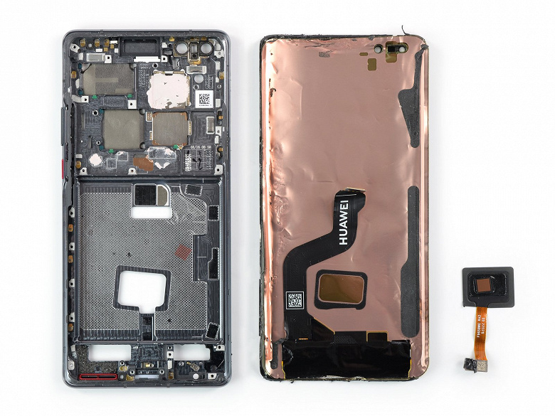 Disassembly Huawei Mate 40 Pro showed that its screen is better not to beat