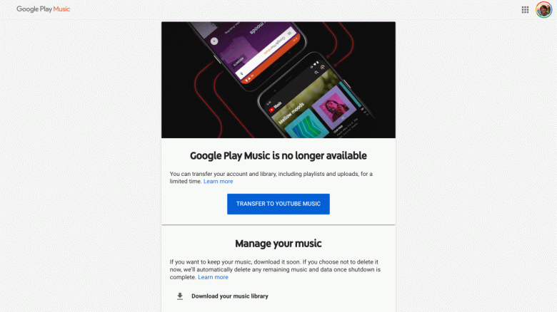 Google Play Music is closed completely and irrevocably, for all users around the world