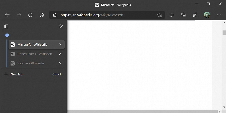 Microsoft Edge is on the cusp of a huge update - vertical tabs and more