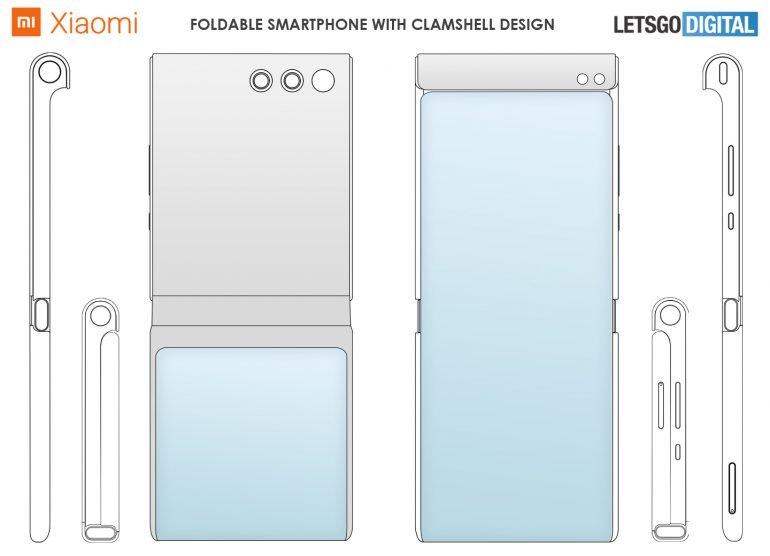 A scattering of extravagant Xiaomi novelties of 2021.  The company has patented 7 foldable smartphones at once