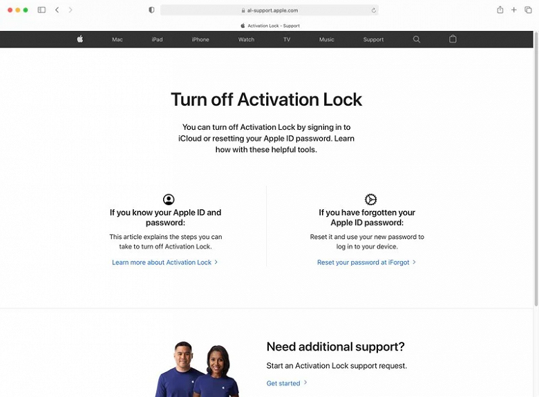 Official portal to unlock iPhones locked by Apple for security reasons launched