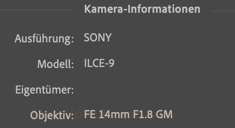 Sony credited with intending to release a 14mm f / 1.8 GM lens