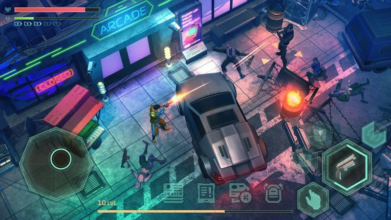 Cyberika: Cyberpunk Action RPG on iOS and Android released