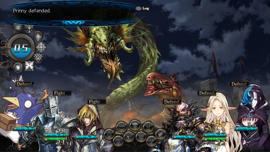 There were massive battles in Stranger of Sword City.